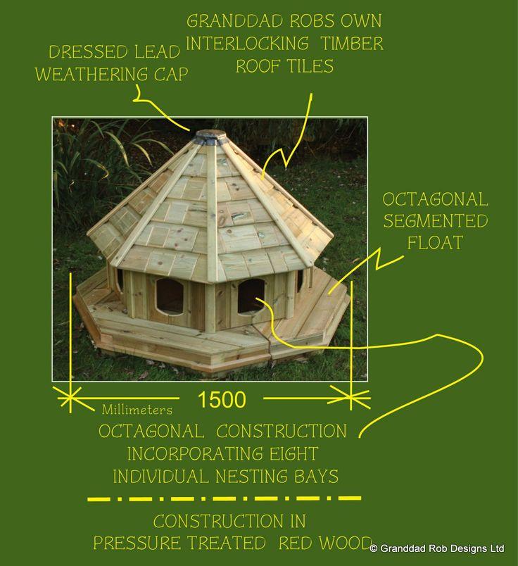 duck house | Yolandas Floating Duck House - Df-yol-001 - Duck Houses - by Granddad ...
