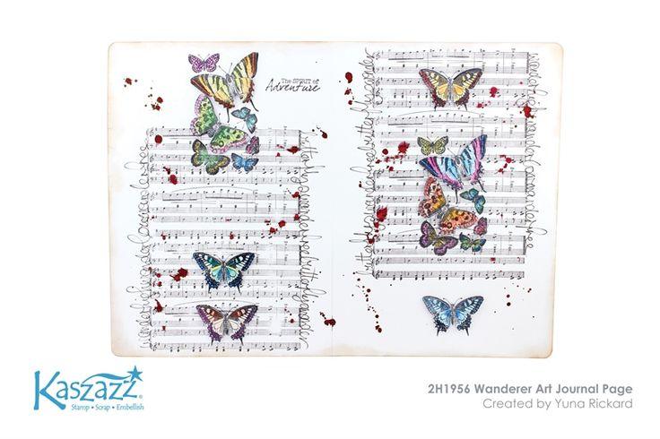 2H1956 Wanderer Art Journal Page