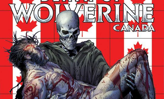Conoce las portadas canadienses de la muerte de Wolverine