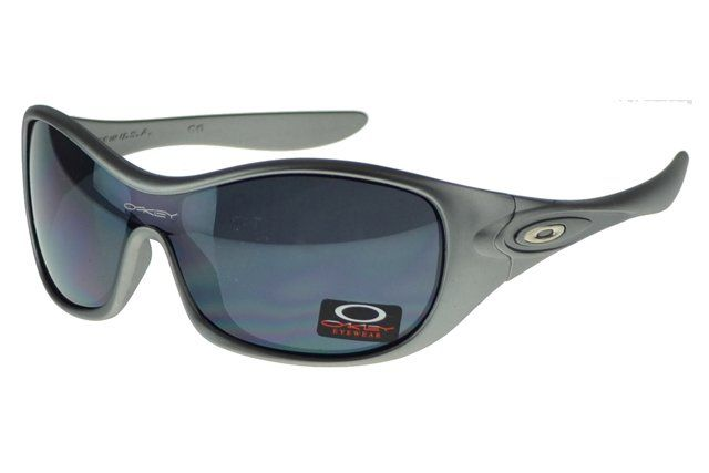 Imitated Oakley Antix Sunglasses Gray Frame Black Lens#Oakley Sunglasses
