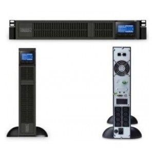 Zasilacz awaryjny UPS Digitus On-Line 1500VA/1350W, 8x IEC C13, LCD, rack