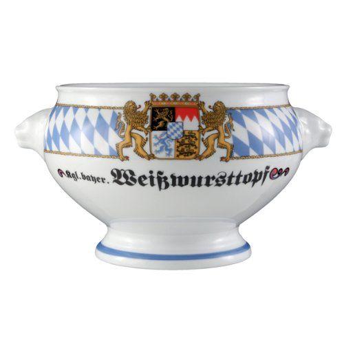 Seltmann Weiden 001.455576 Terrine L�wenkopf ohne Deckel 2,0 L Compact Bayern-Serie