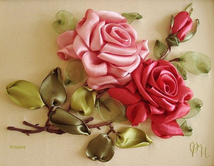 Best images about ribbon embroidery on pinterest van