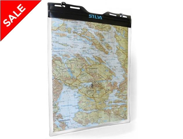 Protect your map from wet weather, and read it in any conditions.