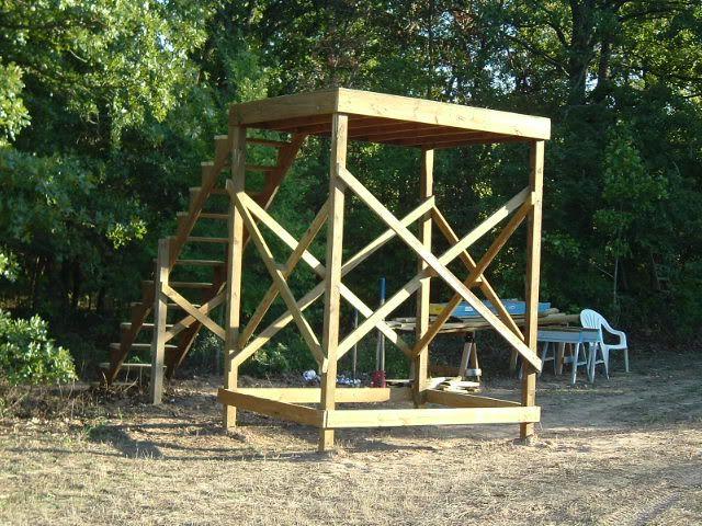 Homemade Treestand
