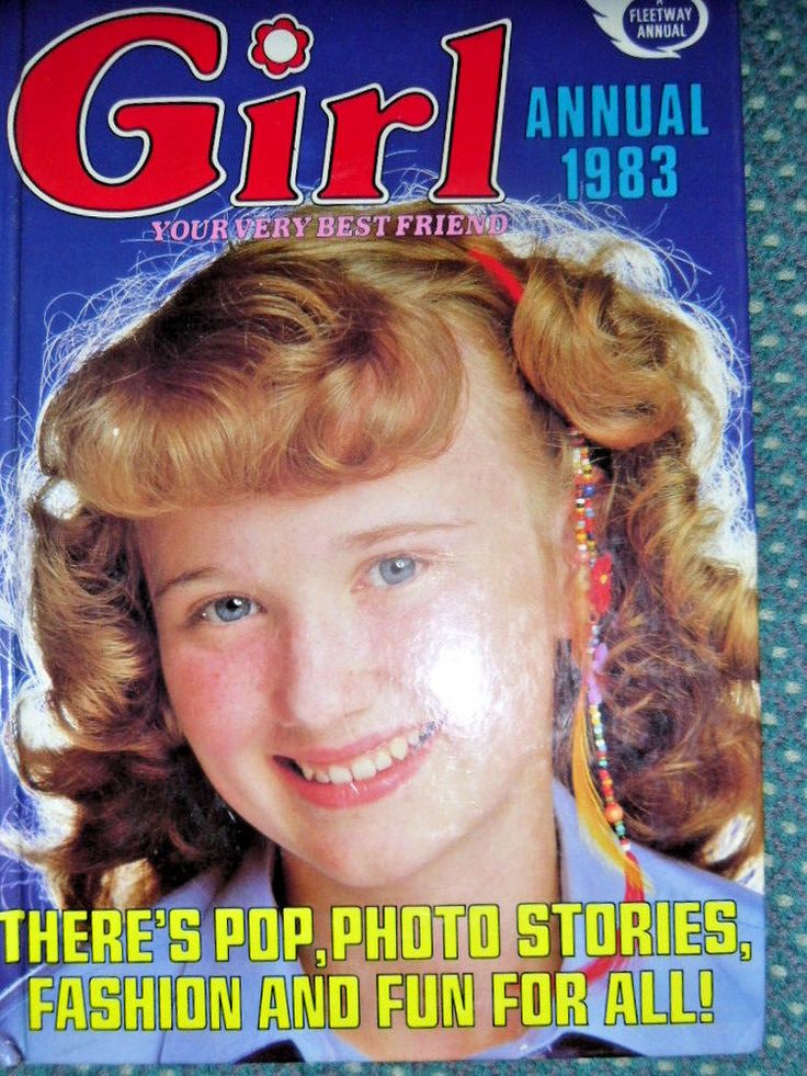 Girl Annual 1983 -Childrens books - Used