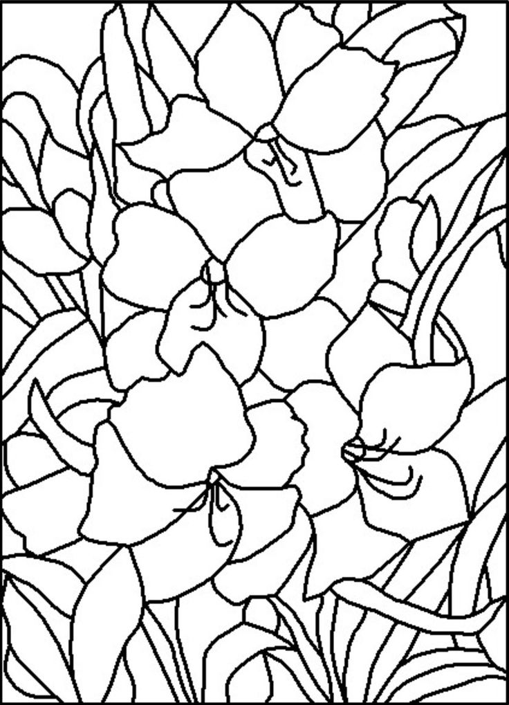 ART:ERY Stained Glass Pattern Co-Op ::: Amaryllis