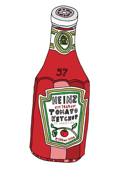 Andrew Joyce.- Heinz Tomato Ketchup