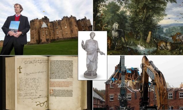 Duke of Northumberland forced to sell £15million worth of antiques