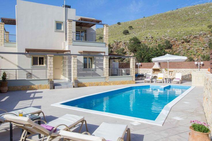 3 Bedroom stone villa with lovely sea view in Apokoronas, Exopoli | Cretico
