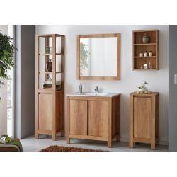 Eichenschränke in 2020 Badezimmer möbel, Regal eiche und