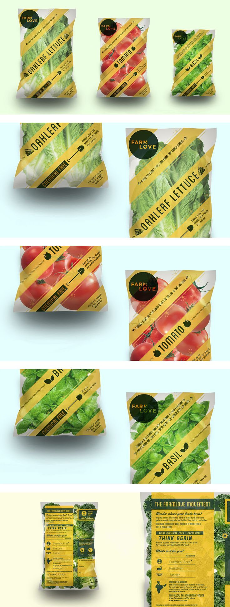Farm Love by Please See// Packaging for Anamcaara we worked on :)