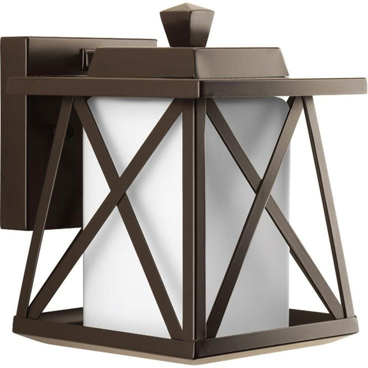 Outdoor Light Fixture Wall Sconce Oil Rubbed Bronze Exterior Lighting Porch New #Westinghouse