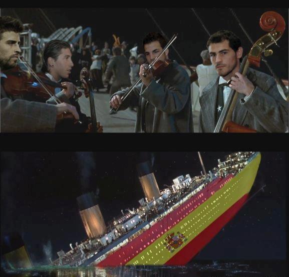 El hundimiento del Titanic español