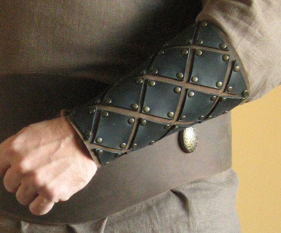Medieval Armor Celtic Viking Bracers Deluxe by MorganasCollection, $59.99