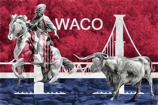 waco,waco tx,waco texas,waco texas city flag,the city flag of waco texas,waco flag,waco city flag,waco tx city flag,waco texas city flag,jc findley,the waco trail boss,downtown waco,waco statues,waco sculptures,trail boss statue,cowboy,horse,cow,longhorn cow,longhorn bull,longhorn in waco