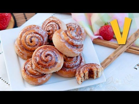Cinnamon Rolls | The Vegan Corner - YouTube
