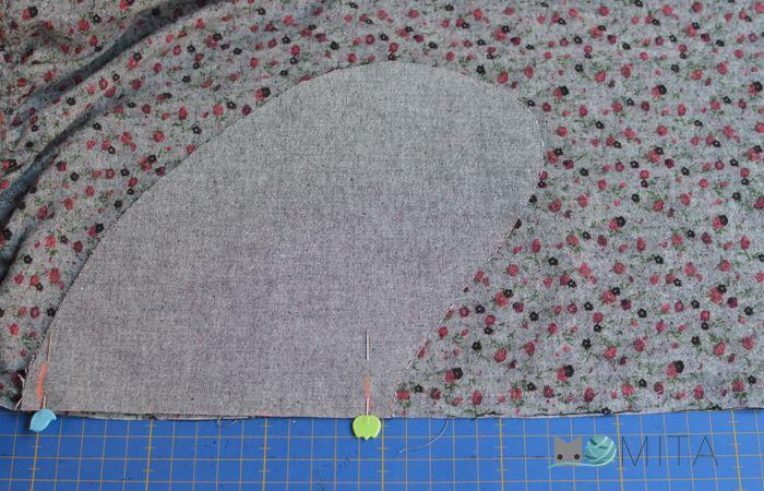 falda fruncida 2