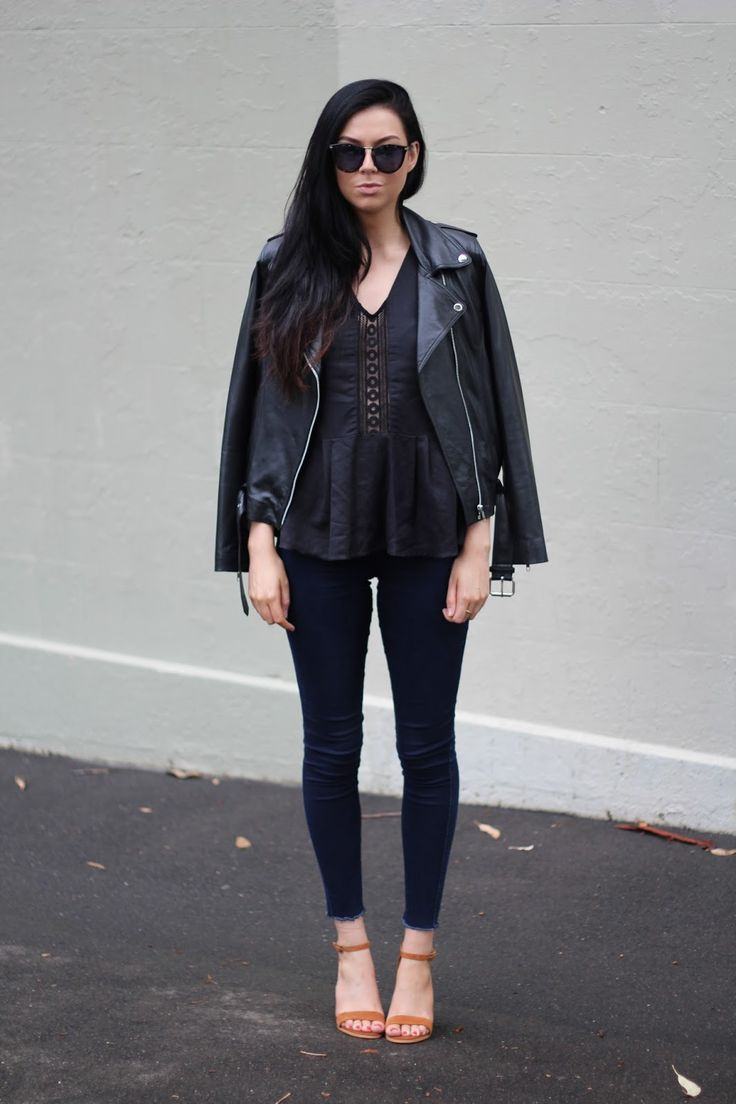 Changes black lace top styled by Jessie Webb