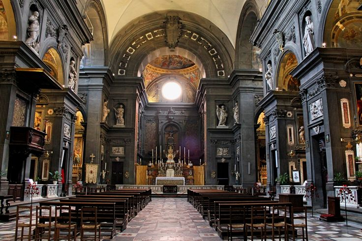 chiesa dei santi michelle gaetano - firenze - italia