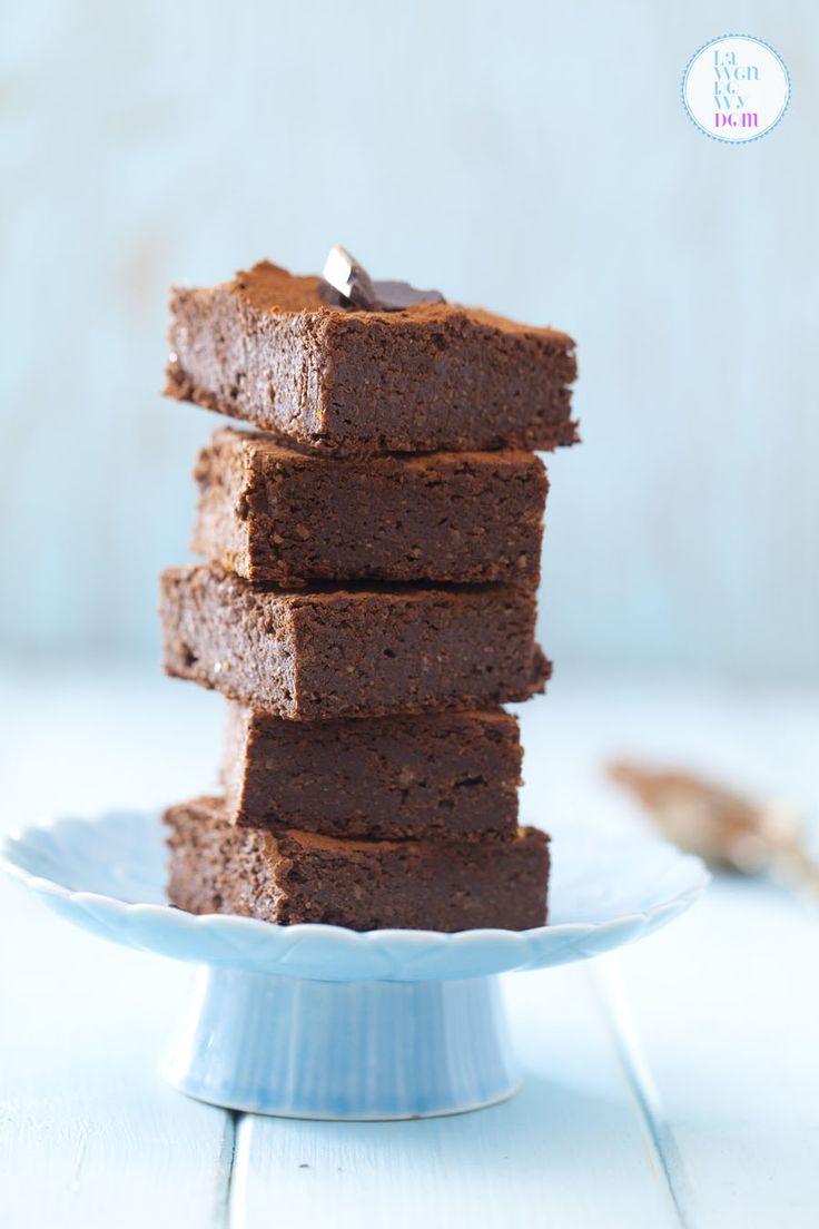 Bezglutenowe brownie z batatów | Lawendowy Dom