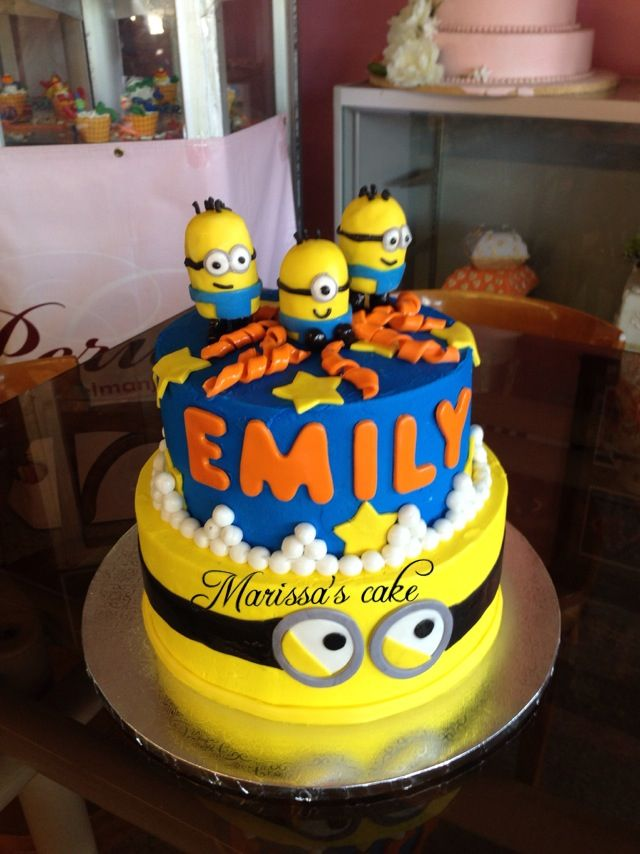 34 best Despicable Me Birthday Cakes images on Pinterest Birthday