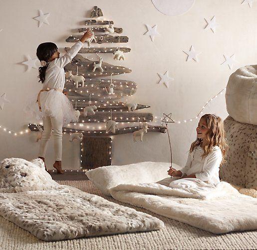 DIY Noël : 35 idées déco pour un sapin sans épine ! #christmas #homemade