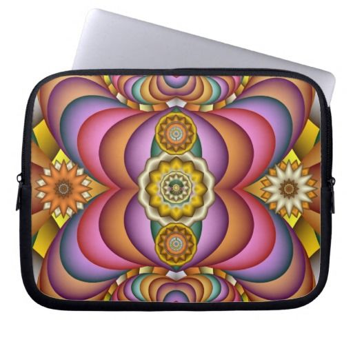 Creative Fractal Art Laptop Sleeve