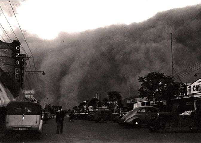 dust storm , Mildura 1936