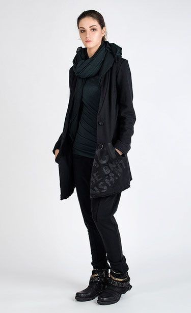 ESVERADO - Slim fit jersey blazer, unlined