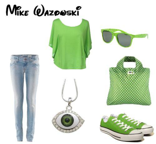Mike wazowski monsters inc disney bound mike wazowski disney