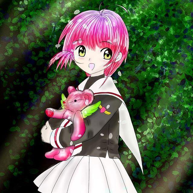 【inaiinaiainai】さんのInstagramをピンしています。 《明日から現実世界へ帰ります…… #ccさくら #カードキャプターさくら #木之本桜 #CLAMP #桜 #サクラ #一番くじ #anime #イラスト #illust #illustration #絵 #似顔絵 #draw #art #love #Kawaii #可愛い #Japan #女の子 #japanesegirl #girl #pink #followme  #drawing #iPadpro #applepencil》