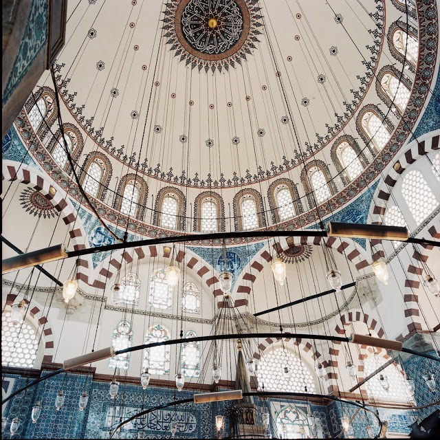 Rustam Pasha, built in the 16th c. by Mimar Sinan, Istanbul, Turkey.
