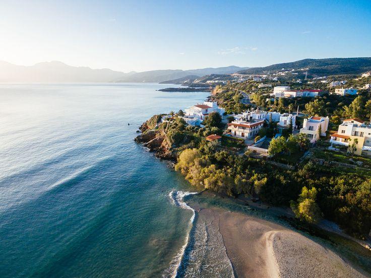 Almyros Beach in Agios Nikolaos