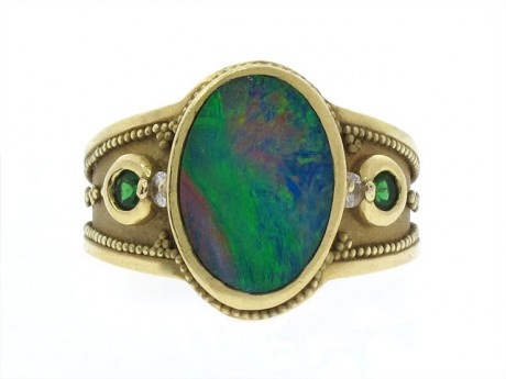 Opal Ring: Opals Rings, Opal Rings, Fashion Affair, Pretty Things, Shiny Pretty, Opals Und, Boho Bijoux, Fun Jewelry