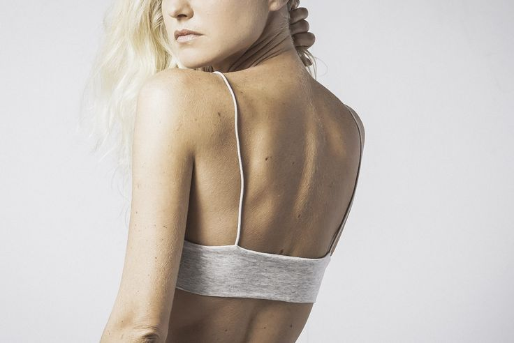 geanine soft bralet in grey marle available now @ marceau.com.au