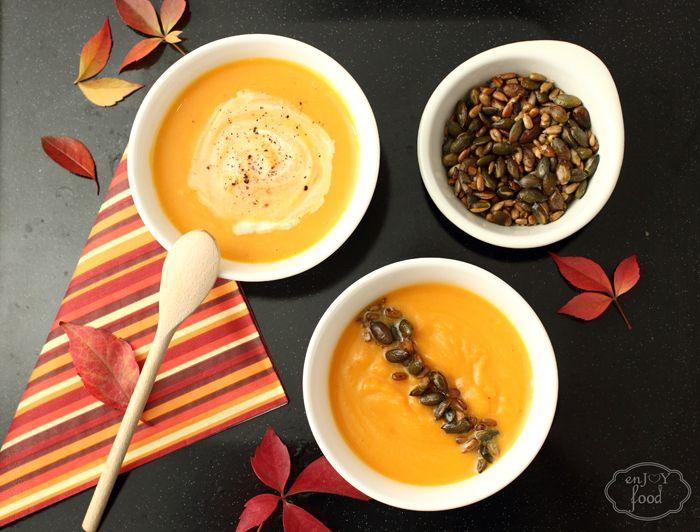 Pumpkin cream soup  - Supa crema de dovleac placintar