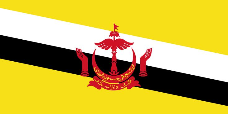Flag of Brunei - Gallery of sovereign state flags - Wikipedia, the free encyclopedia