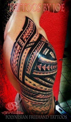 sleeve #samoan #tattoo