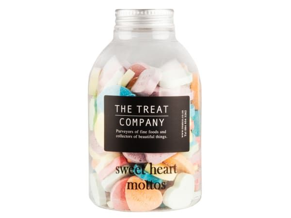 Buy The Treat Company Sweet Heart Mottos Jar, 285g - TTC014for R49.00