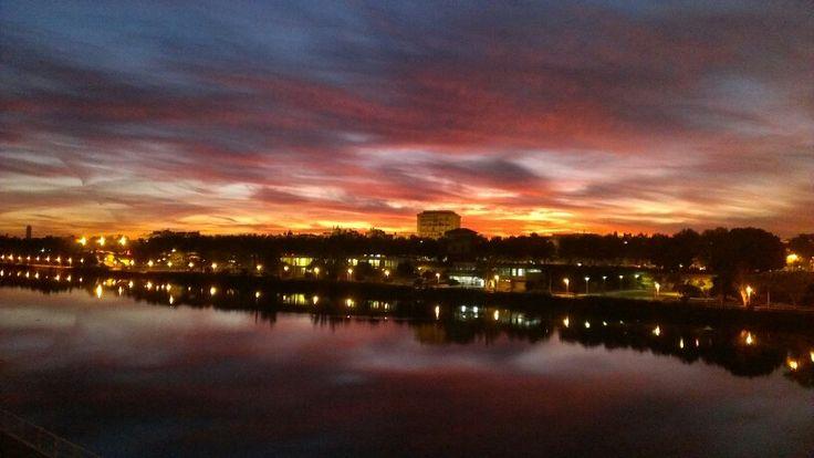 Amanecer. Sevilla 131017