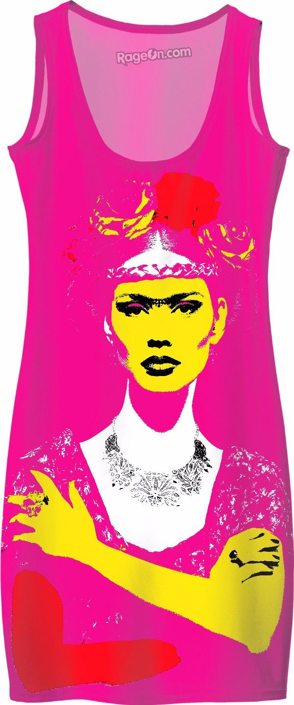 Check out my new product https://www.rageon.com/products/pink-frida on RageOn!