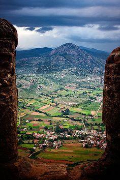 A View from Nandi Hills, Bangalore, India
