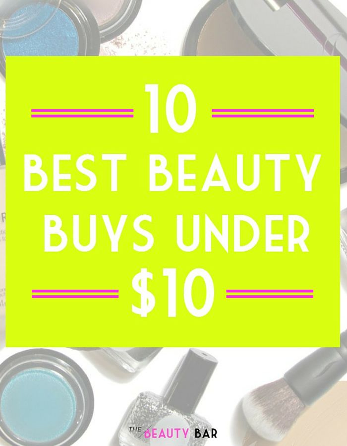 Professional makeup artist shares her picks for the ten best beauty products under 10 dollars. Must-pin if you're looking for high quality makeup on a broke girl budget!