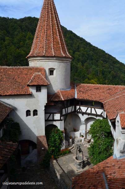 En el interior del #Castillo de #Drácula en #Rumania.