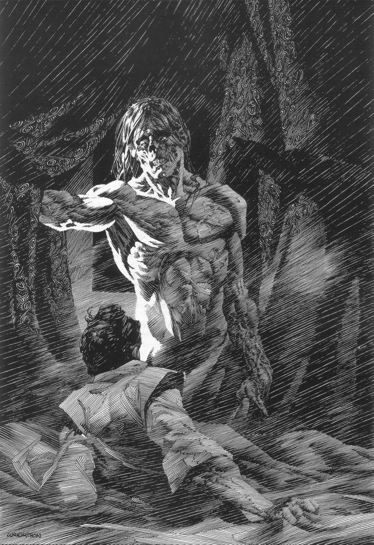 Bernie wrightson   Bernie Wrightson - Frankenstein - Taringa!