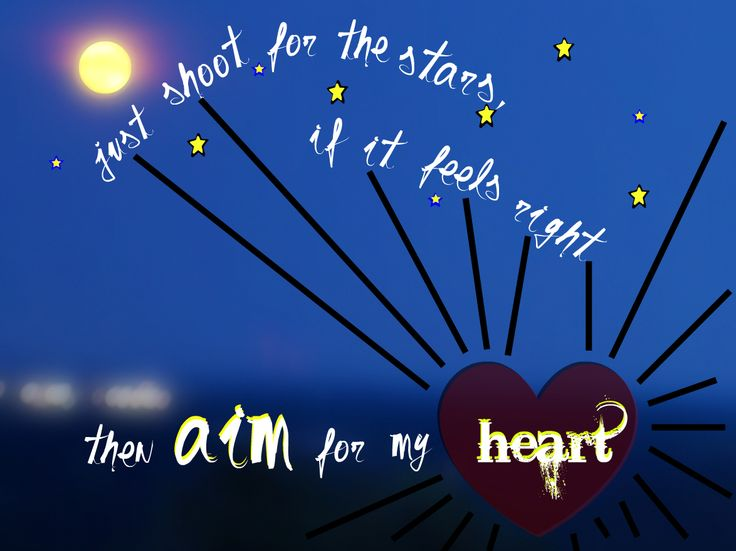it'-s in the stars. Its been written in the scars on our hearts, We ...