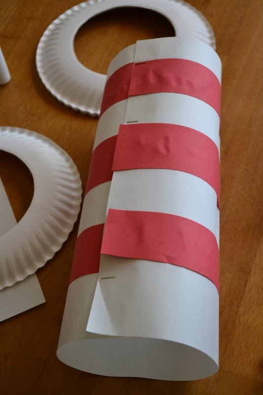 Cat In The Hat Hat Paper Plate Craft