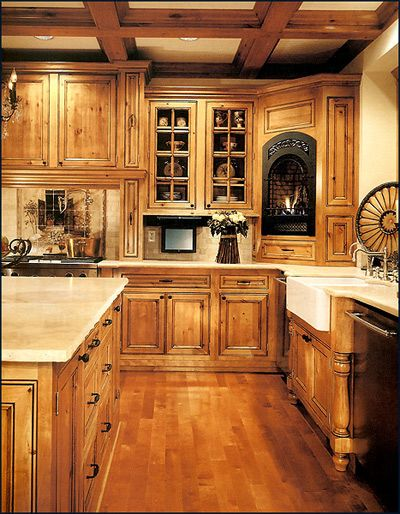 alder cabinets  | custom cabinet kitchen a