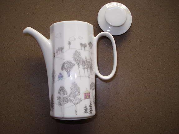 tapio wirkkala limited edition miniatur kaffeekanne. Black Bedroom Furniture Sets. Home Design Ideas
